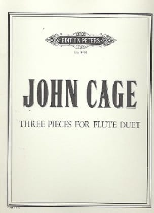 Three Pieces For Flute Duet - John Cage - Partition - laflutedepan.com