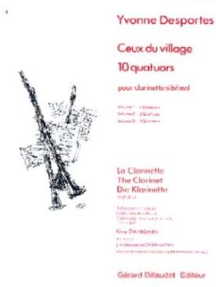 Ceux du village 10 quatuors - Volume 1 - laflutedepan.com