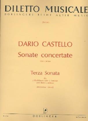 Terza Sonata Sonate concertante, Libro 1 -2 Blockflöten Bc - laflutedepan.com