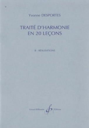 Yvonne Desportes - Treaty of Harmony in 20 lessons - B. Achievements - Partition - di-arezzo.com