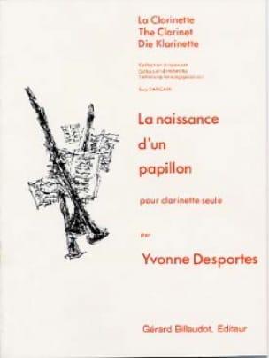 La naissance d'un papillon - Yvonne Desportes - laflutedepan.com
