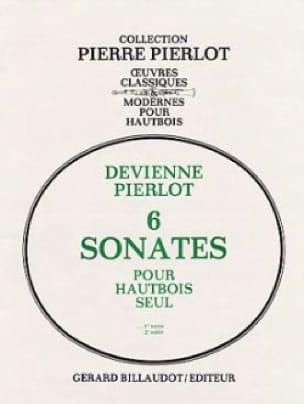6 Sonates Volume 1 - 1ère Suite - DEVIENNE - laflutedepan.com