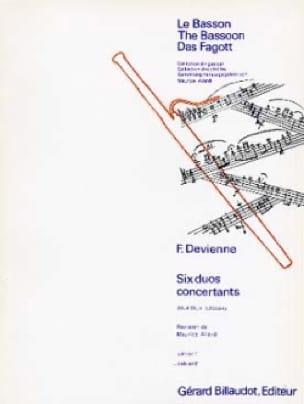 François Devienne - 6 Concurrent Duets op. 3 - Volume 2 - Partition - di-arezzo.com