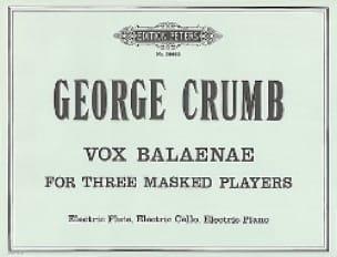 Vox Balaenae - for 3 masked players - George Crumb - laflutedepan.com