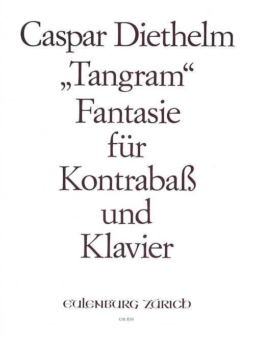 Tangram Fantasie op. 149 - Caspar Diethelm - laflutedepan.com