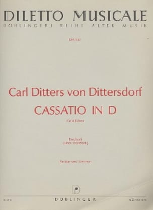 Cassatio in D - 4 Flöten - laflutedepan.com