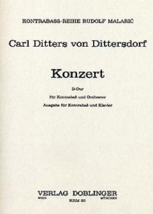 Carl Ditters von Dittersdorf - Konzert in D - Partition - di-arezzo.co.uk