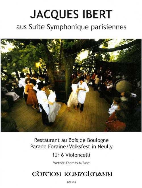 Suite symphonique parisiennes extr. - 6 Cellos - laflutedepan.com