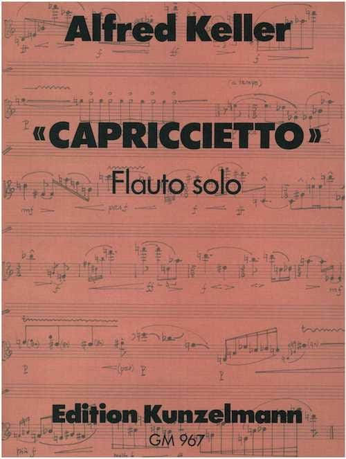 Capricietto - Flauto solo - Alfred Keller - laflutedepan.com