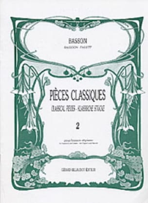 - Classic Volume 2 pieces - bassoon - Partition - di-arezzo.com