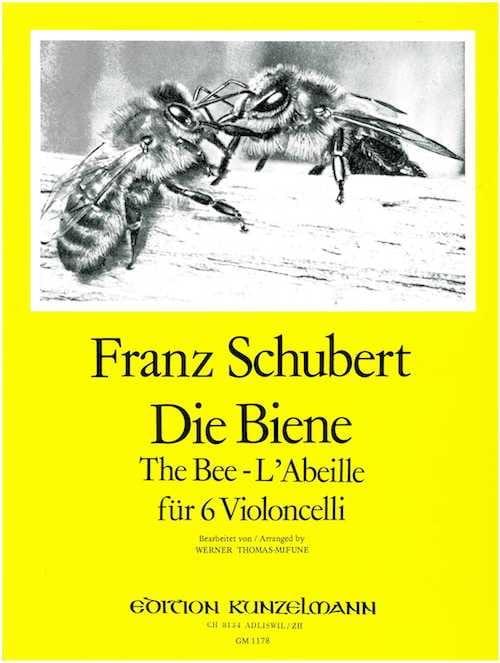 SCHUBERT - Die Biene - 6 Violoncelli - Partition - di-arezzo.co.uk