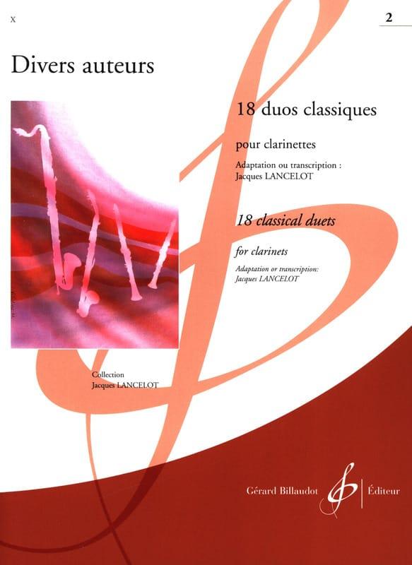 - 18 Classical Duos Volume 2 - Partition - di-arezzo.co.uk