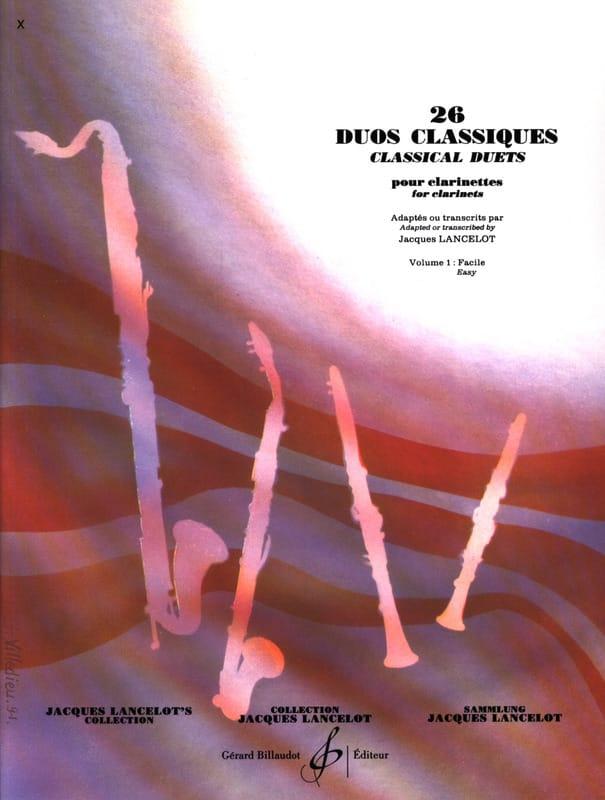 26 Duos Classiques Volume 1 - Partition - laflutedepan.com