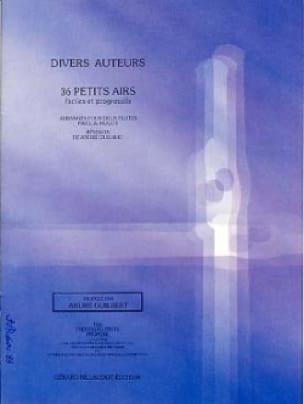 36 Petits airs - 2 flûtes - Partition - laflutedepan.com