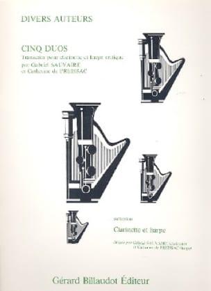 Cinq Duos - Partition - Duos - laflutedepan.com