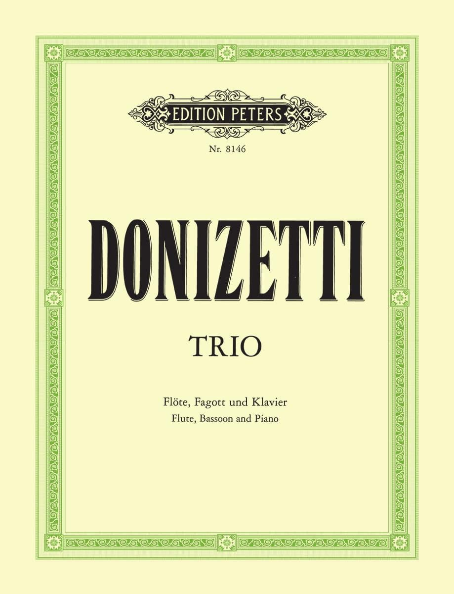 Trio En Fa Majeur -flöte Fagott Klavier - laflutedepan.com