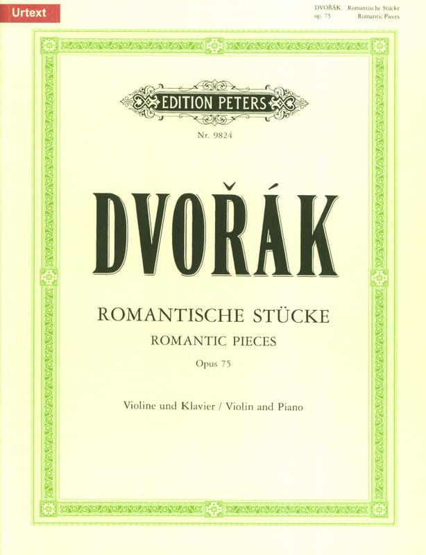 DVORAK - Romantische Stücke op. 75 - Partition - di-arezzo.co.uk