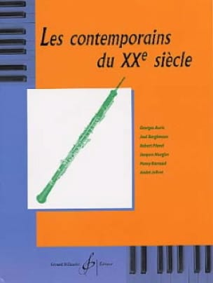 - 20th century contemporaries - Oboe - Partition - di-arezzo.com