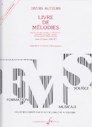 Jean-Clément Jollet - Book of Melodies Volume 3 - Preparatory - Partition - di-arezzo.co.uk
