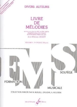 Jean-Clément Jollet - Book of Melodies Volume 5 - Medium - Partition - di-arezzo.co.uk
