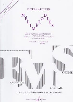 Jean-Clément Jollet - Melimelodies - Volume 1 - Partition - di-arezzo.com