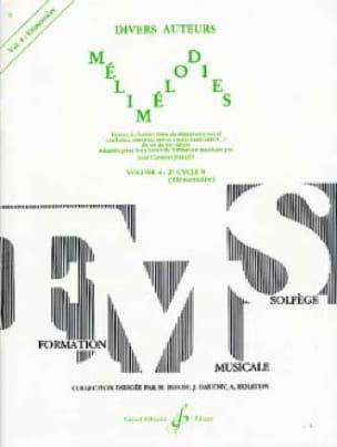 Jean-Clément Jollet - Melimelodies - Volume 4 - Partition - di-arezzo.com