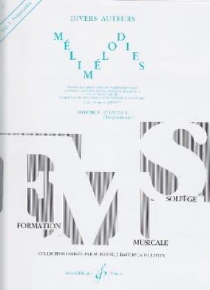 Jean-Clément Jollet - Melimelodies - Volume 3 - Partition - di-arezzo.com