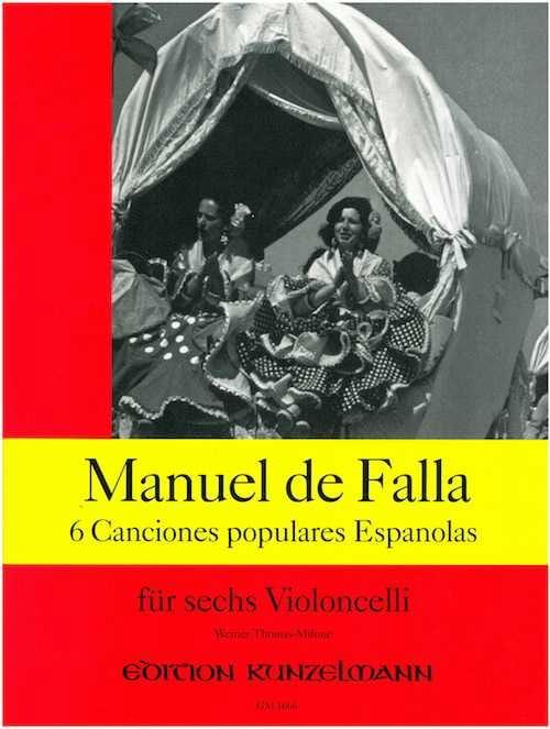 6 Canciones populares espanolas - DE FALLA - laflutedepan.com