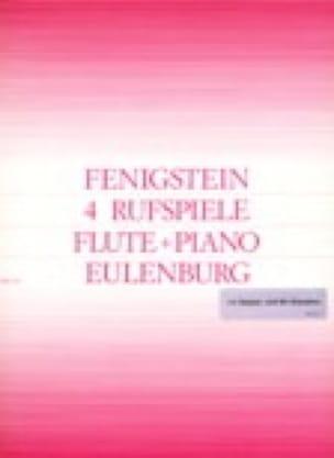 4 Rufspiele - Flûte et Piano - Victor Fenigstein - laflutedepan.com