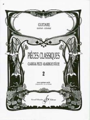 Pièces Classiques Volume 2 - Guitare - laflutedepan.com