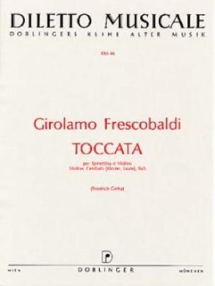 Toccata - Violon - FRESCOBALDI - Partition - Violon - laflutedepan.com