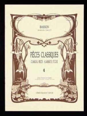 - Classic Pieces - Volume 4 - Bassoon - Partition - di-arezzo.com