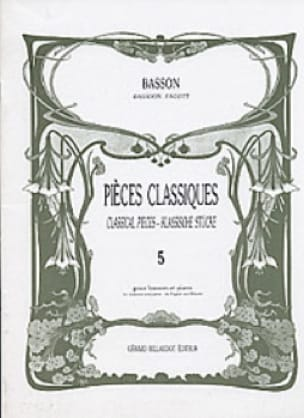 - Classic Volume 5 pieces - Bassoon - Partition - di-arezzo.com