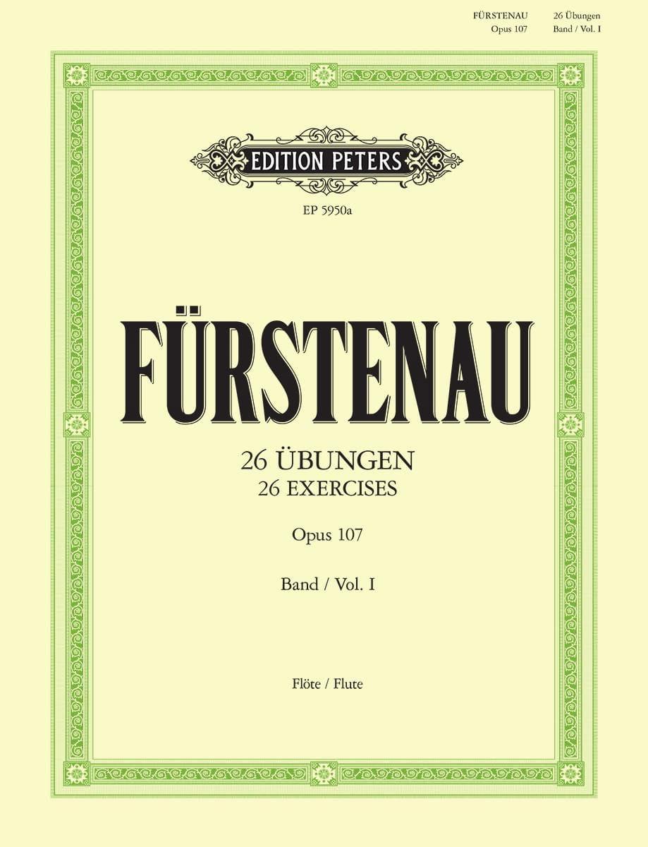 Anton Bernhard Fürstenau - 26 Übungen op. 107 - Bd. 1 - Partition - di-arezzo.es