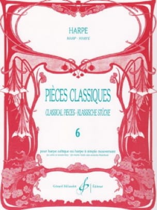 - Pièces classiques Volume 6 -Harpe - Partition - di-arezzo.fr