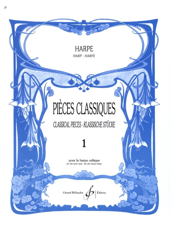 - Classic pieces Volume 1 - Harp - Partition - di-arezzo.com