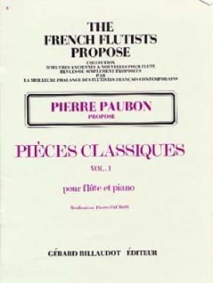 Pierre Paubon - Classic Parts - Volume 1 - Partition - di-arezzo.com