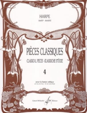 - Classic Volume 4 Pieces - Harp - Partition - di-arezzo.com