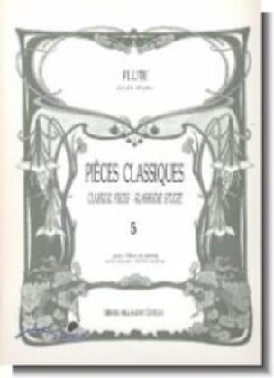 Pièces classiques - Volume 5 - Flûte et piano - laflutedepan.com