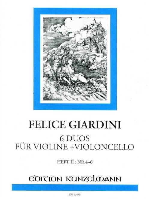 6 Duos für Violine + Violoncello - Heft 2 n° 4-6 - laflutedepan.com