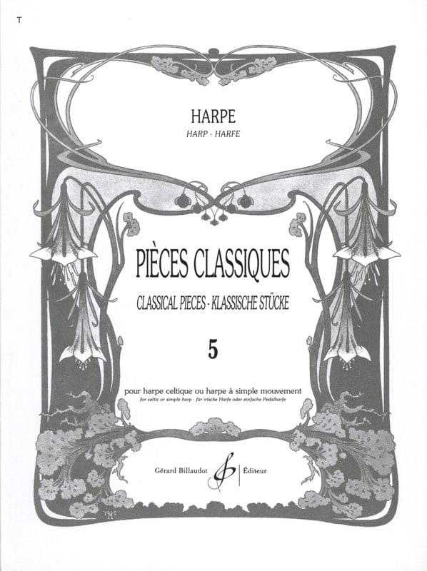 - Volume 5 Classics - Harp - Partition - di-arezzo.com