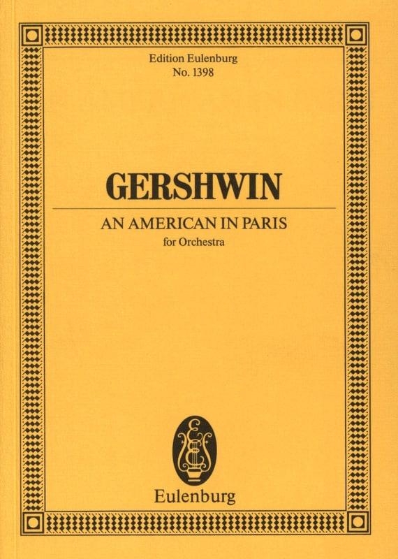 An American In Paris - Conducteur - GERSHWIN - laflutedepan.com