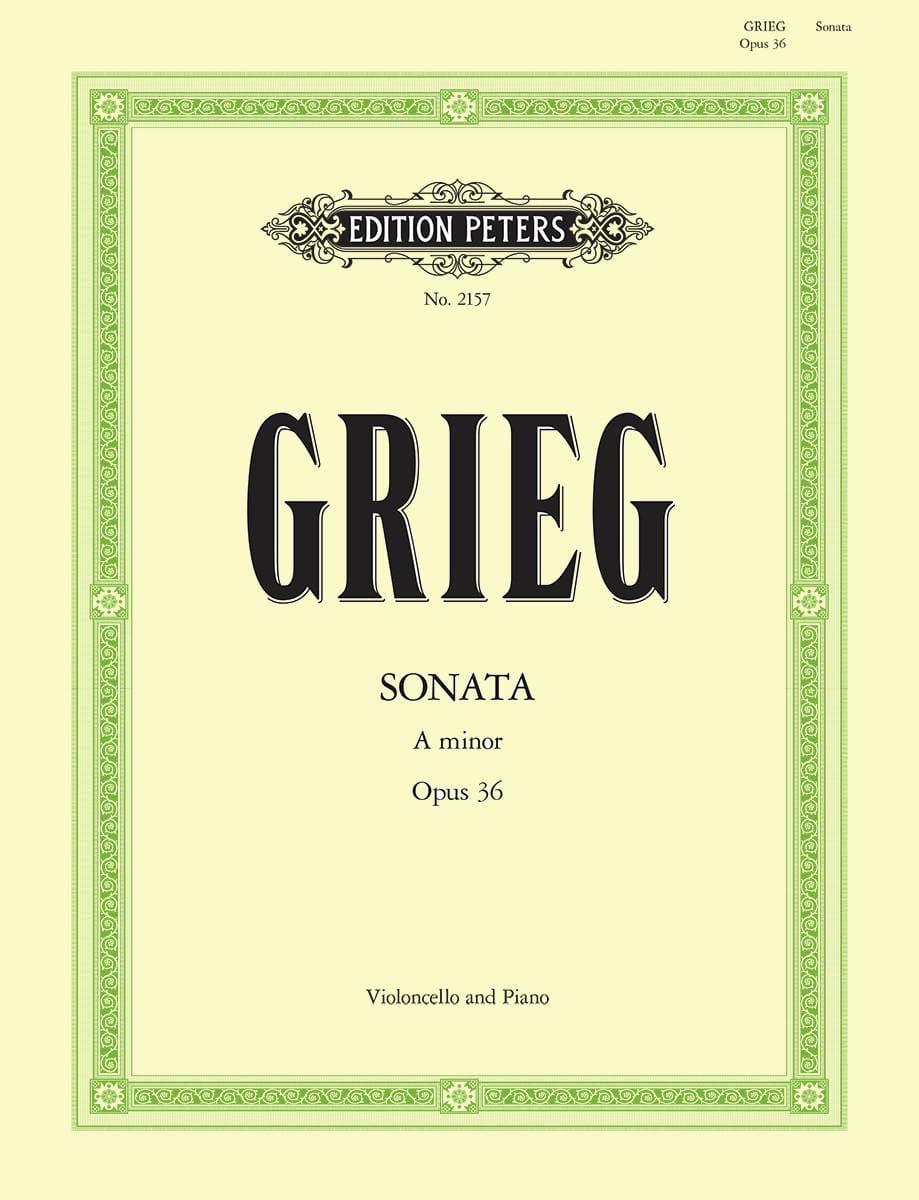 Sonate en la mineur op. 36 - GRIEG - Partition - laflutedepan.com