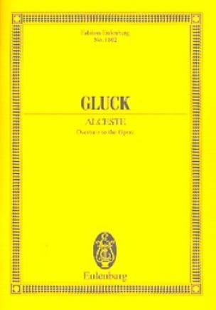 Alceste - Ouverture - GLUCK - Partition - laflutedepan.com
