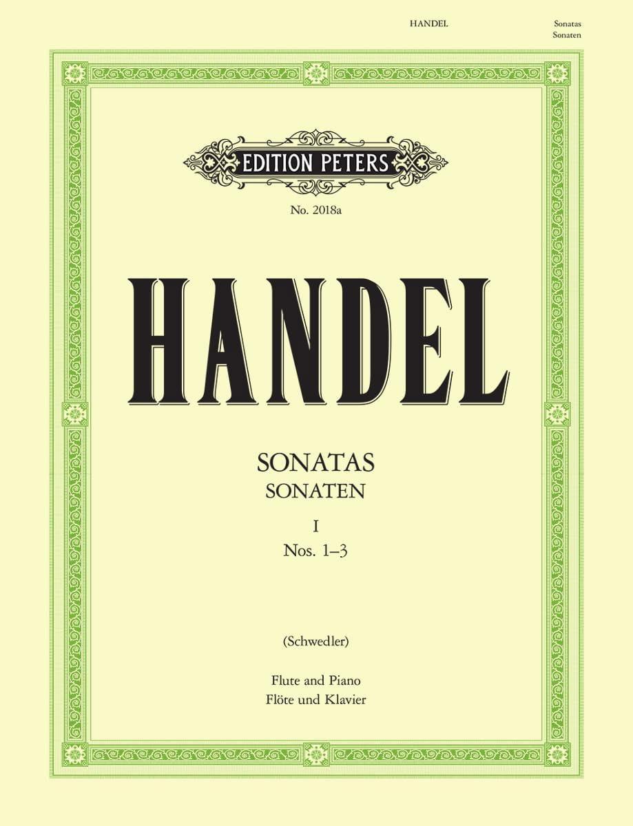 HAENDEL - Flute Sonatas Volume 1 - No. 1-3 - Partition - di-arezzo.co.uk
