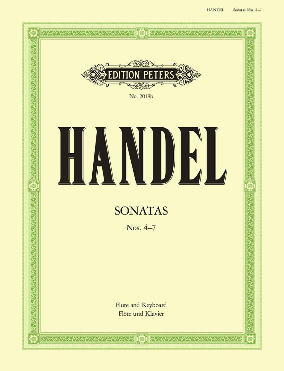 Flute Sonatas Volume 2 - N° 4-7 - HAENDEL - laflutedepan.com