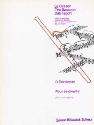 Pour se Divertir - Desire Dondeyne - Partition - laflutedepan.com