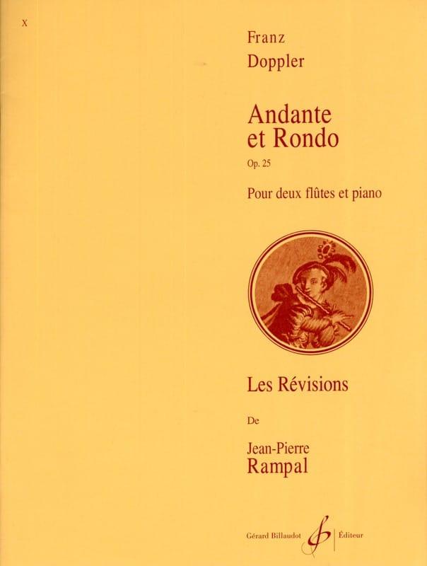 Franz Doppler - Andante y Rondo op. 25 - Partition - di-arezzo.es