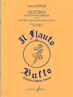 Duettino sur des motifs américains op. 37 - laflutedepan.com