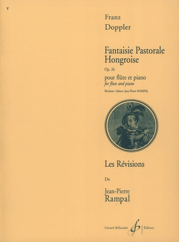 Franz Doppler - Hungarian pastoral fantasy op. 26 - Partition - di-arezzo.co.uk